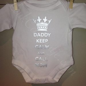 Daddy keep calm