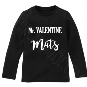 Mr valentine shirtje